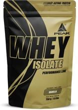 Peak Performance Whey Protein Isolat, 750 g Beutel