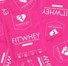 Womens Best Fit Whey 80% Protein, 30 g Sachet