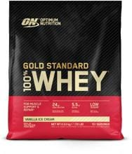 Optimum Nutrition 100 % Whey Gold Standard, 4.53 kg (10 lb) Beutel
