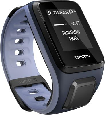 TomTom Runner 2 Music (Sky Cap­tain Blue/ Pur­p­le Haze) - Small