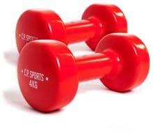 4 kg C.P G46 Paar Sports Chromhanteln